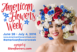 """The second annual """"American Flowers Week"""" is June 28 to July 4. Certified American Grown Flowers, Mayesh Wholesale, Syndicate Sales and Longfield Gardens are among the industry groups supporting the effort."""