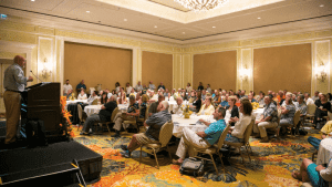 A packed room is a common occurrence at SAF's annual convention, where the programming focuses on some of the most progressive topics, from business and design trends to human resources issues.