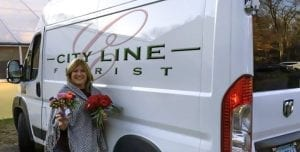 Susan Palazzo of City Line Florist in Trumbull, Connecticut, saved $500 on a 2016 Dodge Ram ProMaster through SAF's Vehicle Discount Program with FCA US LLC.