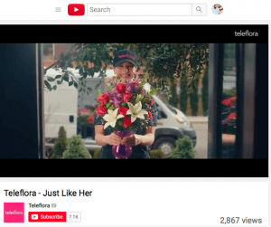 Teleflora S Just Like Her Ads Promote Mother S Day Flowers