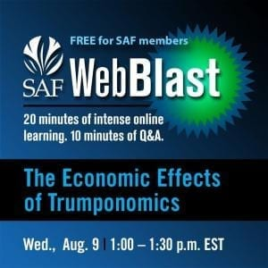 "Register now to participate in the live presentation of ""The Economic Effects of Trumponomics,"" on Wednesday, Aug. 9 at 1 p.m. Eastern."