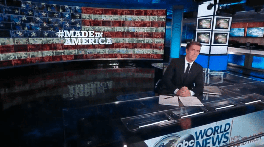 """""""Spring is in the air and so is Mother's Day coming soon and all across the country farmers and florists are hoping you think of them and your mom,"""" said David Muir, during a national broadcast last night on ABC News."""