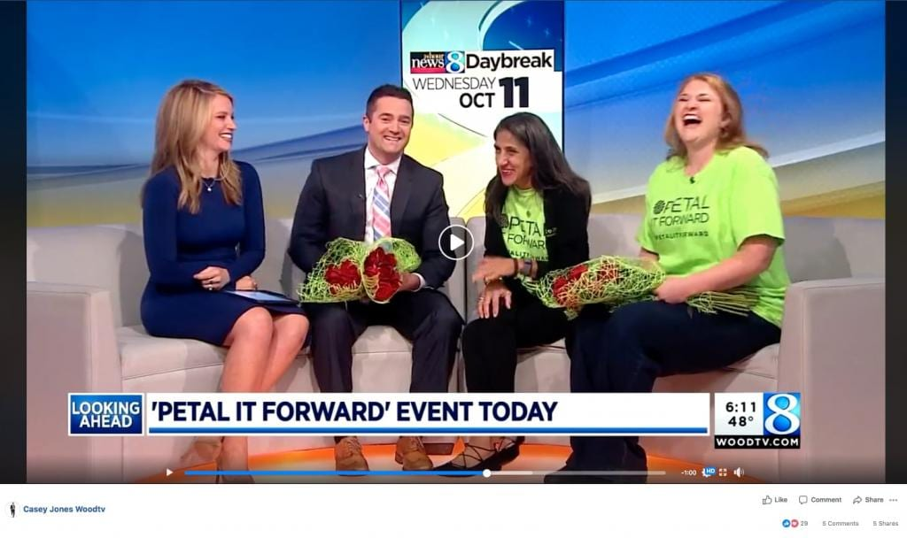 42 States Prepare to 'Petal It Forward' on Oct. 24