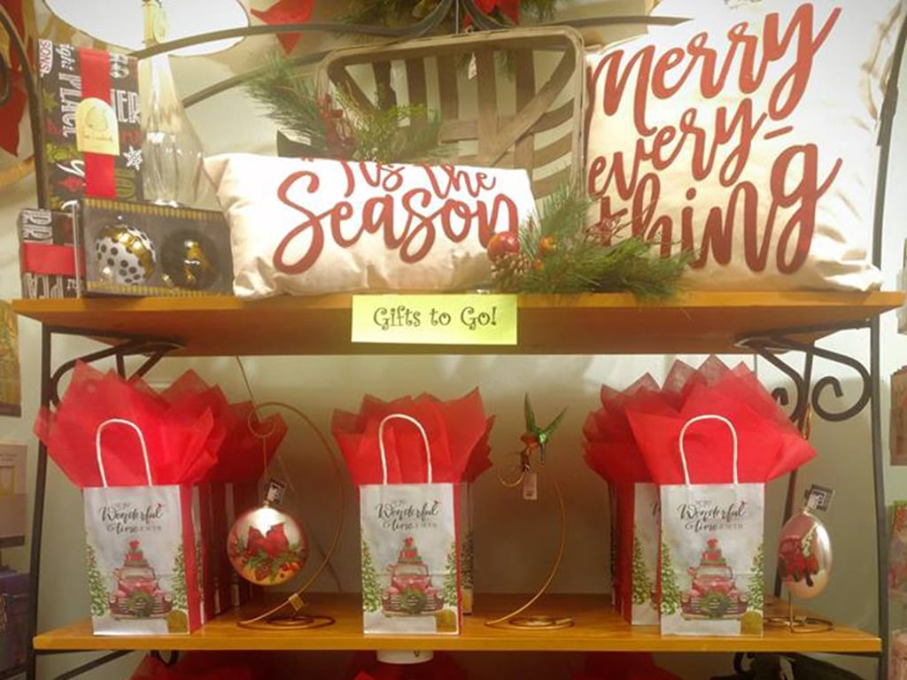 """Creating vignettes for different customer types or setting up """"gifts to go"""" make it easy for people to shop, thus allowing you to clear merchandise."""