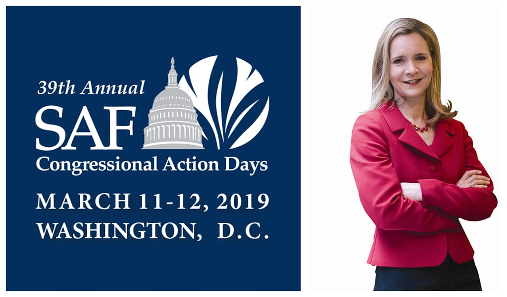A.B. Stoddard will headline the SAFPAC Reception and Dinner during SAF's 39th Annual Congressional Action Days.