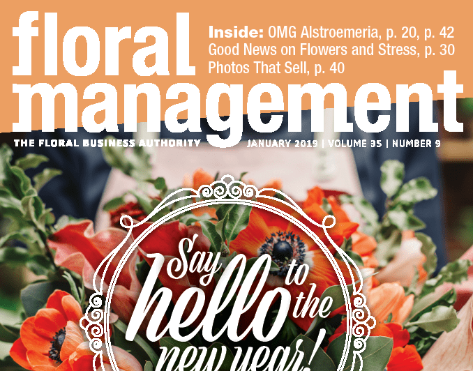 Floral Management January 2019 cover