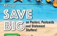 Save 75 percent on SAF Posters, Postcards and Stuffers